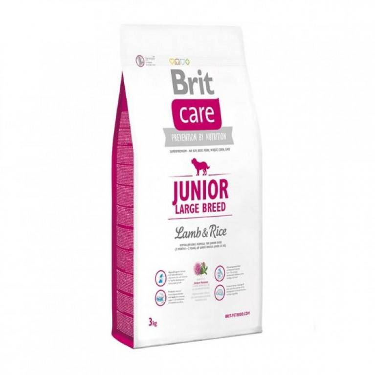 Brit Care Junior Large Breed Lamb Rice Ягненок с рисом для щенков крупных пород 12кг