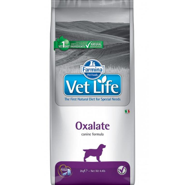 Farmina Vet Life Dog Oxalate Диетическое питание для собак для собак при МКБ