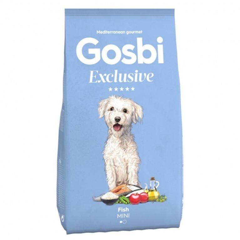 Gosbi Exclusive  fish mini низкозерновой для собак мелких пород с рыбой