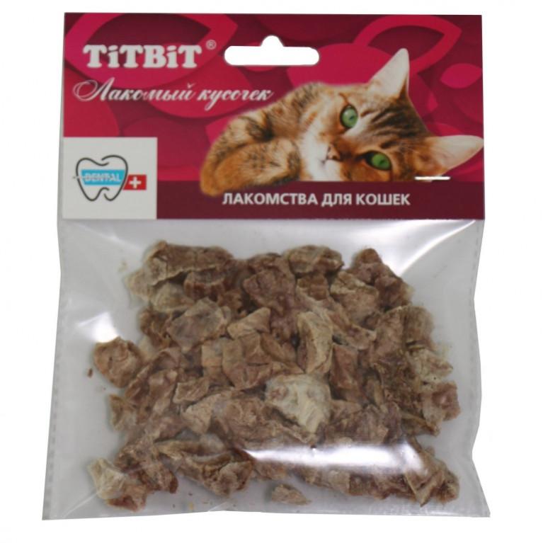 TiTBiT Лакомство для кошек Легкое говяжье (мягкая уп.)
