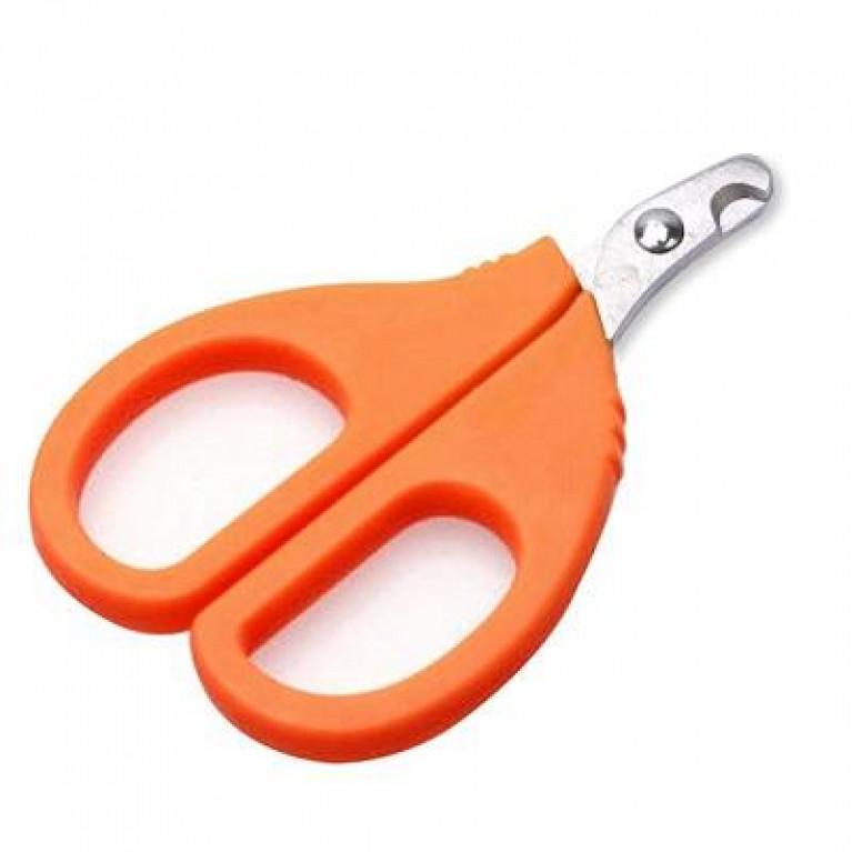 Когтерез с оранжевой ручкой для кошек и собак 9см