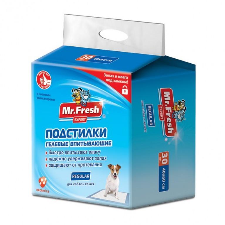 Mr.Fresh Regular Пеленки 40*60 см  ежедневные 30 шт.