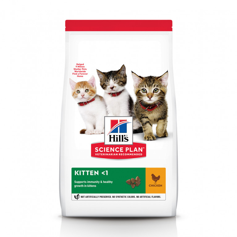 Hill's SP Healthy Development Сухой корм для котят (Курица)