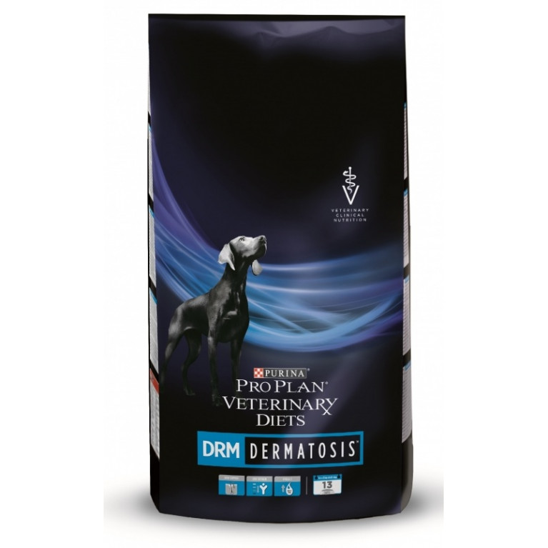 Purina Veterinary Diets Canine DRM Сухой корм для собак при дерматитах, 3 кг