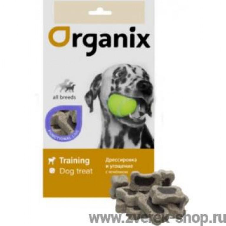 Organix Functional Lamb mini-bones All Breeds Organix Лакомство мини-косточки с ягненком для собак всех пород 50г