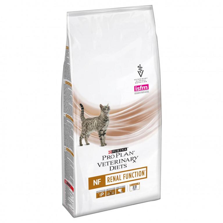 Purina Veterinary Diets NF Renal Feline Function Сухой лечебный корм для кошек c заболеваниями почек 1,5 кг
