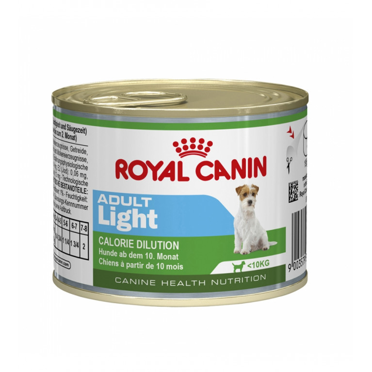 Royal Canin Adult Light/Консервы для собак предрасположенных к полноте 195 г