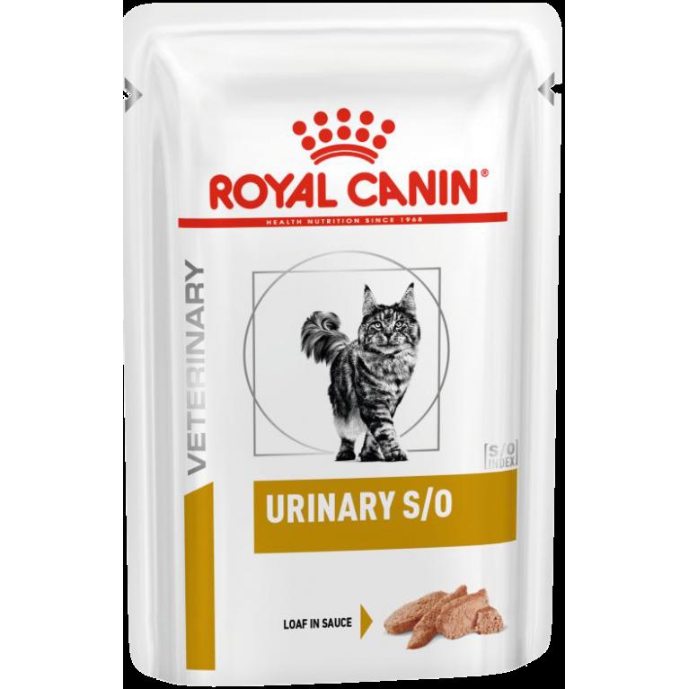 Royal Canin Urinary S/O /Ветеринарная диета для кошек при мочекаменной болезни, 85 гр