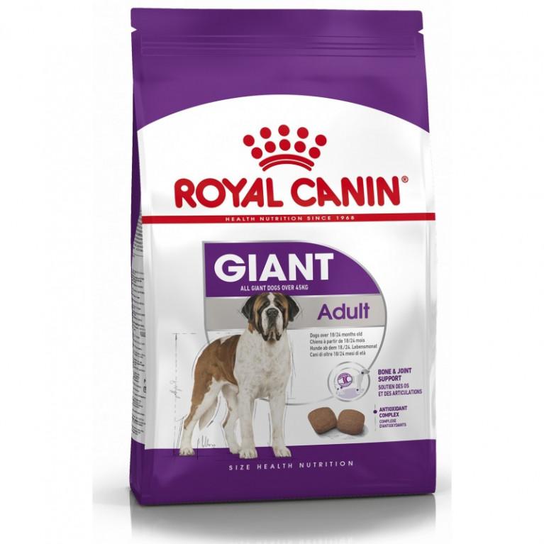 Royal Canin Giant Adult 28/Для взрослых собак гигантских пород от 45 кг с 18 мес