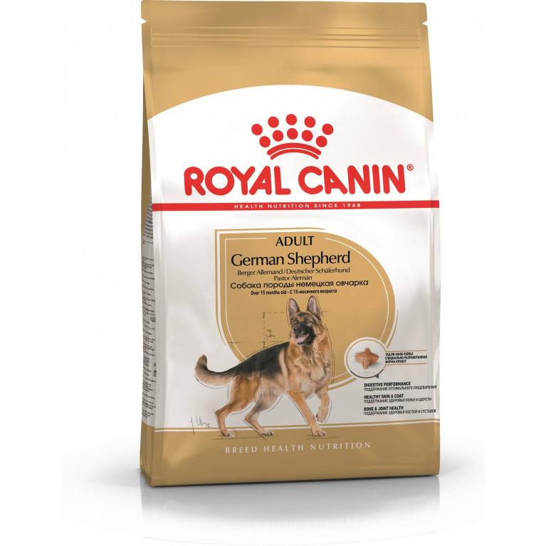 Royal Canin German Shepherd 24/Для взрослой Немецкой овчарки с 15 мес