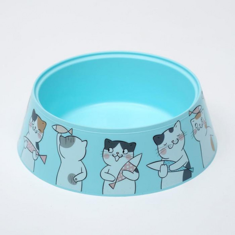 "Миска ""Мур-мяу"" для кошек, 0.3 л"