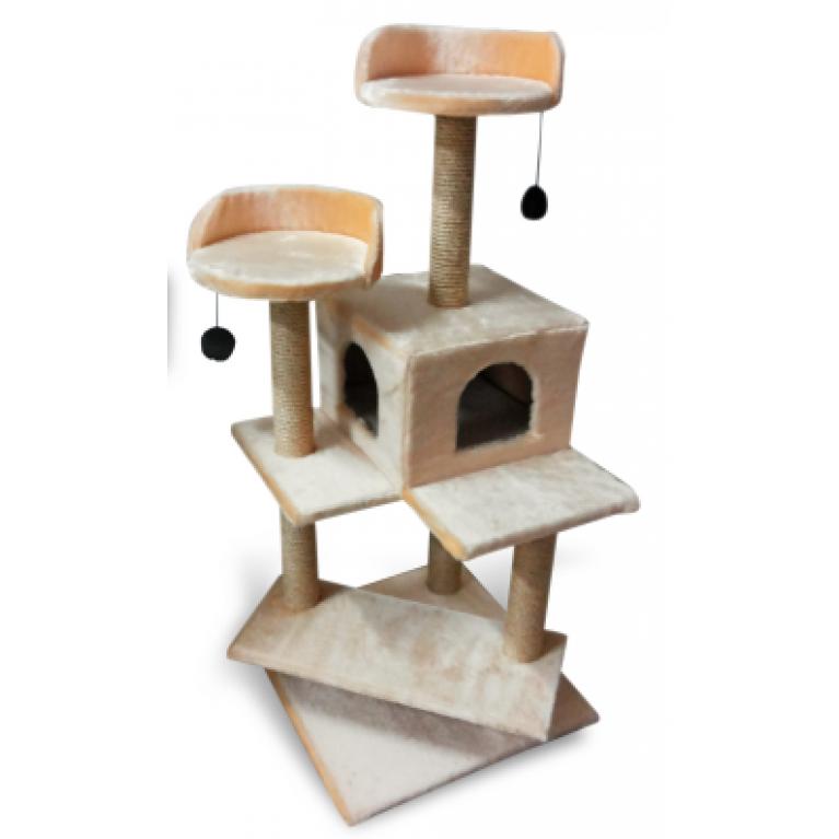 Игровой комплекс - когтеточка для кошек KD055