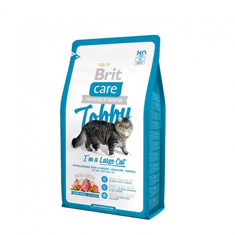 Brit Care Tobby Сухой корм для кошек крупных пород
