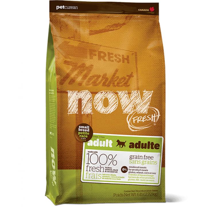 Now Fresh Small Breed Recipe Grain Free/Беззерновой корм для взрослых собак малых пород с индейкой, уткой и овощами