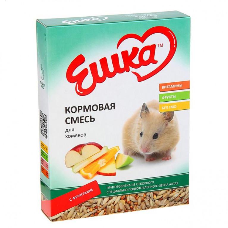 """""""Ешка"""" Кормовая смесь для хомяков, с фруктами, 450 г"""