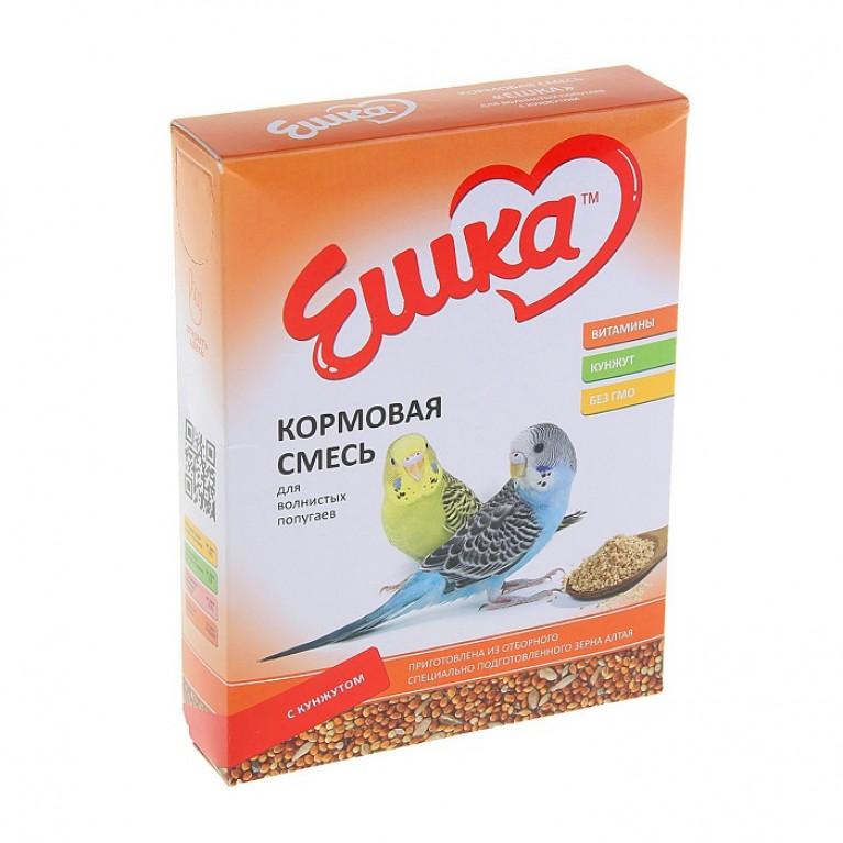 """""""Ешка"""" Кормовая смесь для волнистых попугаев, с кунжутом, 500 г"""