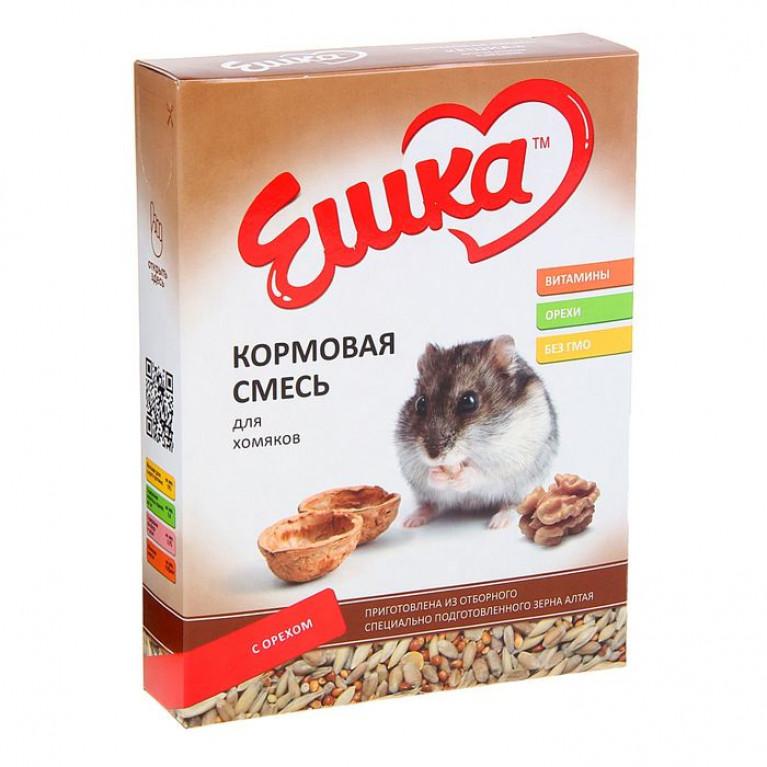"""""""Ешка МАХI"""" Кормовая смесь для хомяков с орехами, 750 г"""