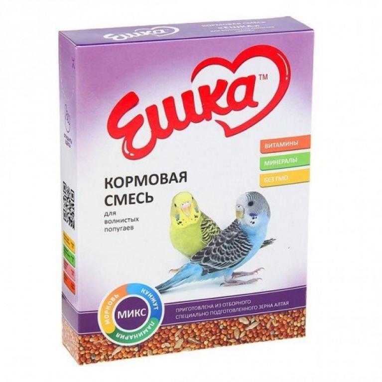"""""""Ешка"""" Кормовая смесь для волнистых попугаев Микс, 500 г"""