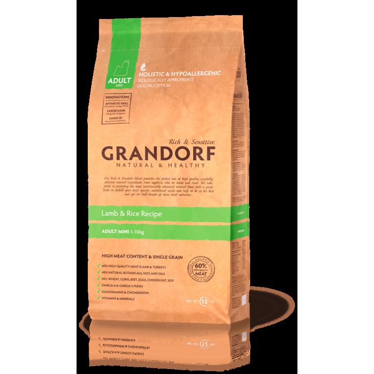 Grandorf Lamb & Rice Adult Mini (Ягненок с рисом Мини)