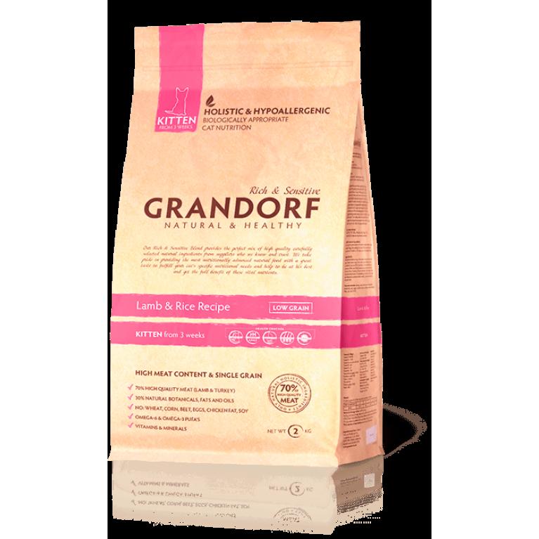 Grandorf Lamb & Rice Kitten/ Для котят (ягненок и рис)