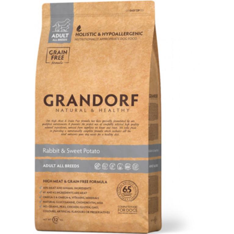 Grandorf Rabbit & Potato Adult All Breeds Корм для взрослых собак все пород (кролик с картофелем)