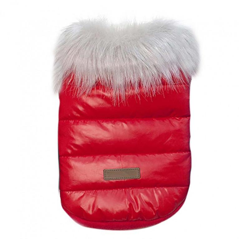 """Куртка для собак """"Одри"""" Красная"""
