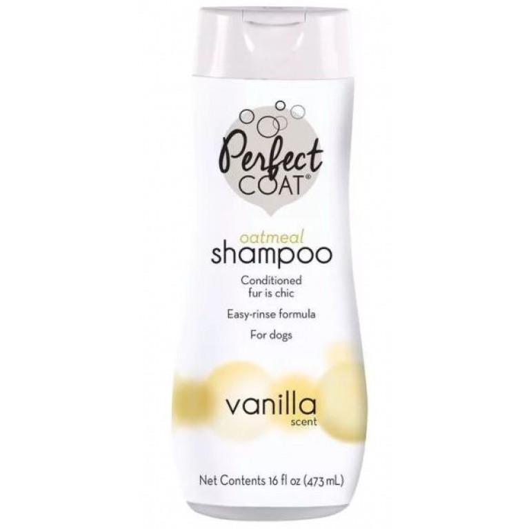 8in1  PC Natural Oatmeal /Шампунь овсяный успокаивающий для кожи с ароматом ванили, 473 мл